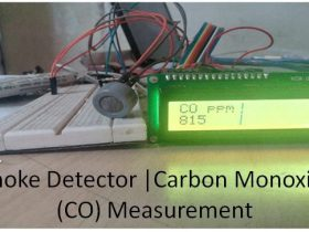 arduino smoke detector project CO measurement