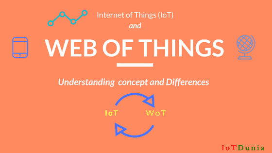 IoT and Web of Things (WoT) -Understanding concept & differences