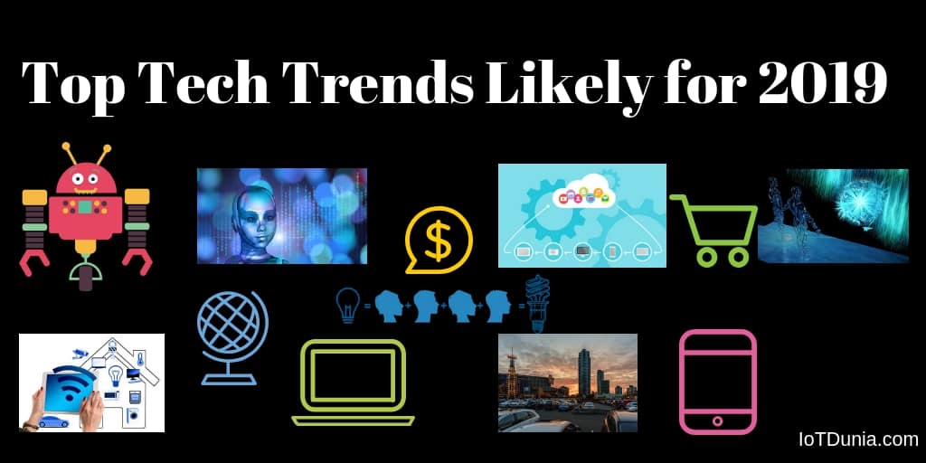 Top Tech Trends in 2019 – Most trending technologies