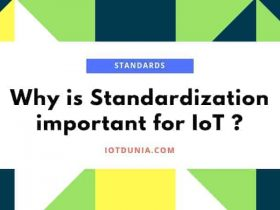 Standardization of IoT